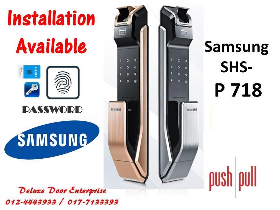 Samsung Smart Digital Door Lock SHS-P718
