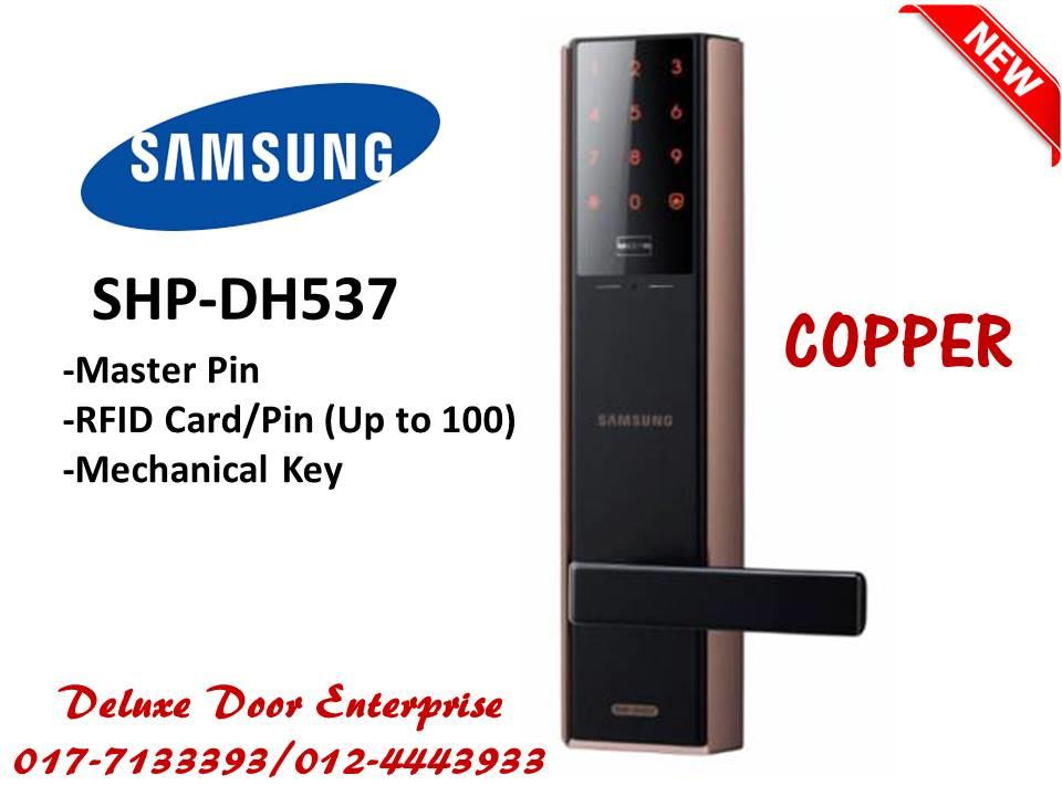 Samsung Smart Door Lock SHP-DH537 (philips/st guchi/yale/hafele)