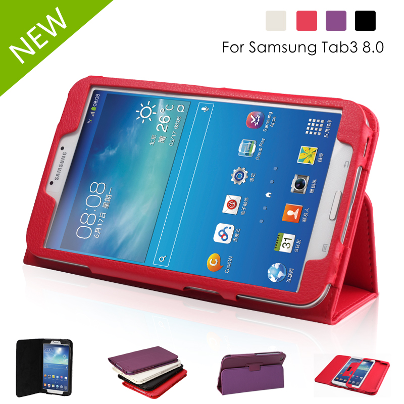 Samsung t311 GALAXYTab 3 8.0Samsung t310 leather Case Casing Cover