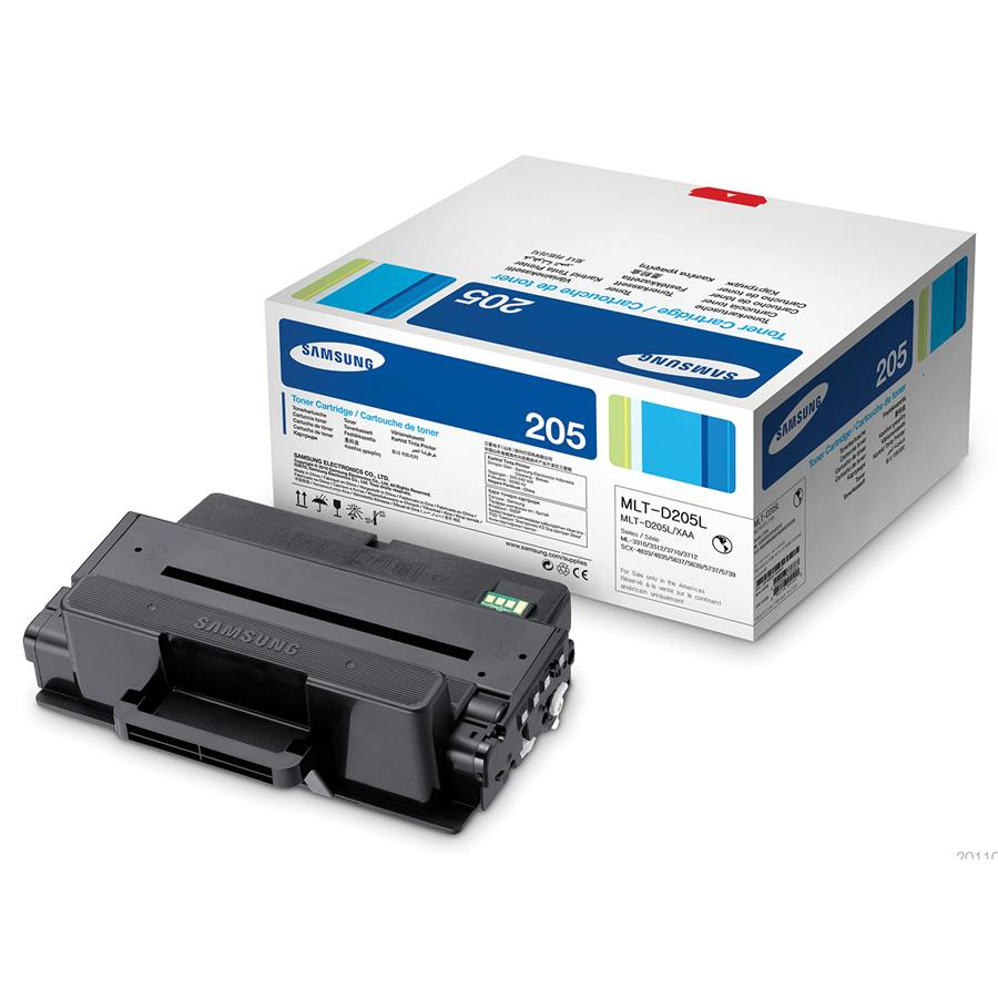 SAMSUNG Toner Cartridge (Black) - MLT-D205L (Compatible)