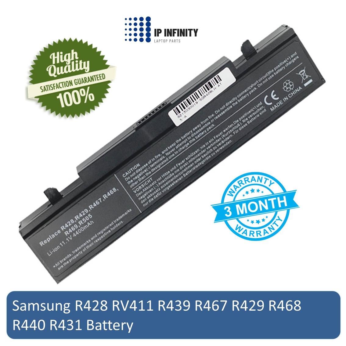 Samsung X65 T7500 R560 R408 RC730 210 Q310 Q318 Laptop Battery