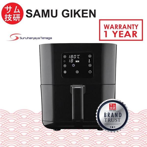SAMU GIKEN Digital Air Fryer with Touch Control AFD-2540B