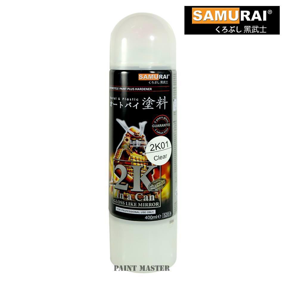 Top Coat Paint >> Samurai Aerosol Spray Paint 2k01 Top Coat Clear Coating