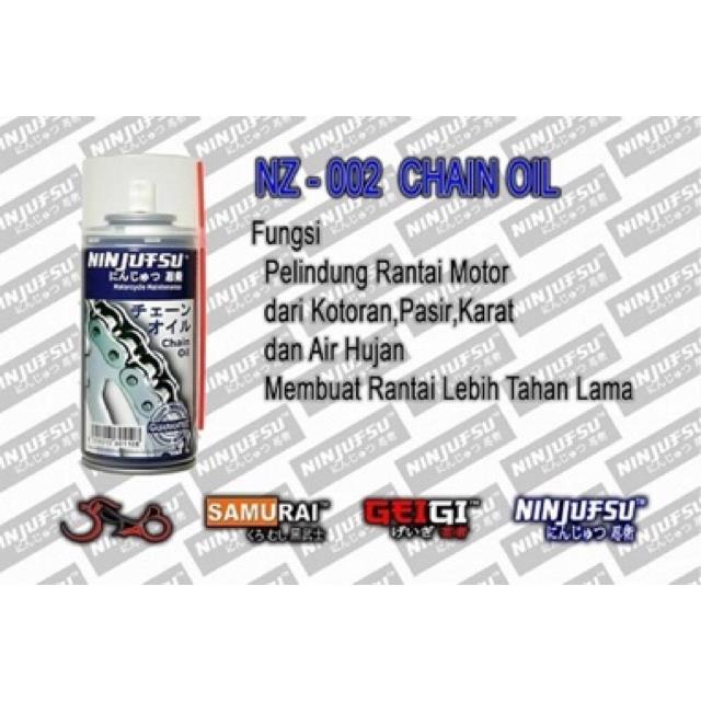 SAMURAI / NINJUTSU CHAIN OIL LUBE 150ML (NZ-002)
