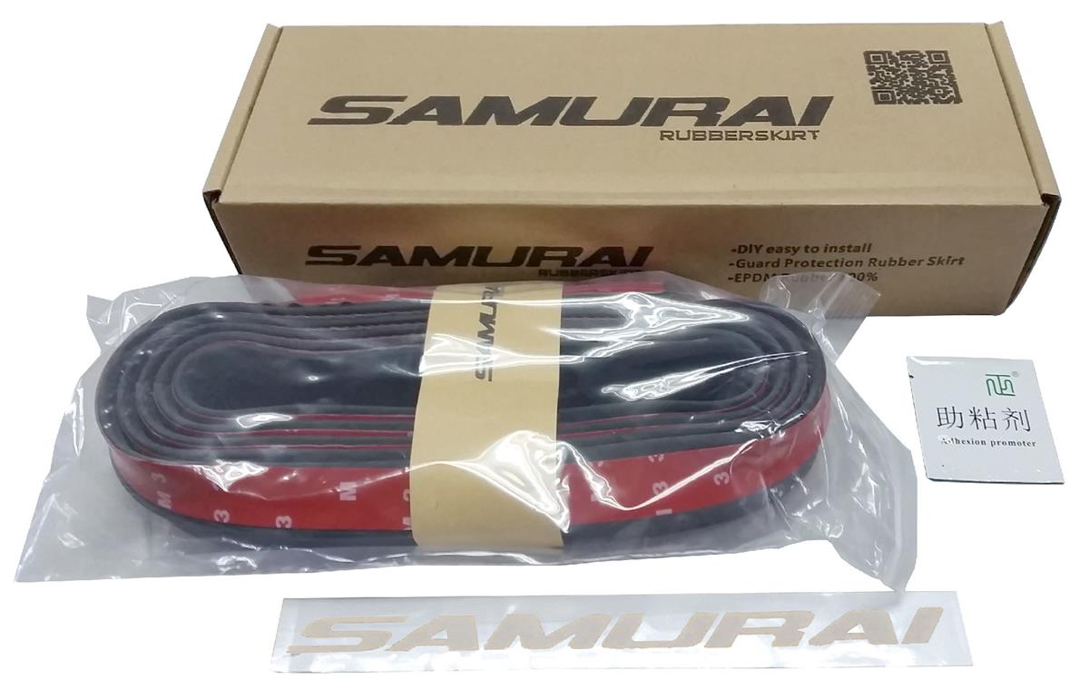 Samurai Rubber Skirt Length Lip Skirt Protector Universal Car