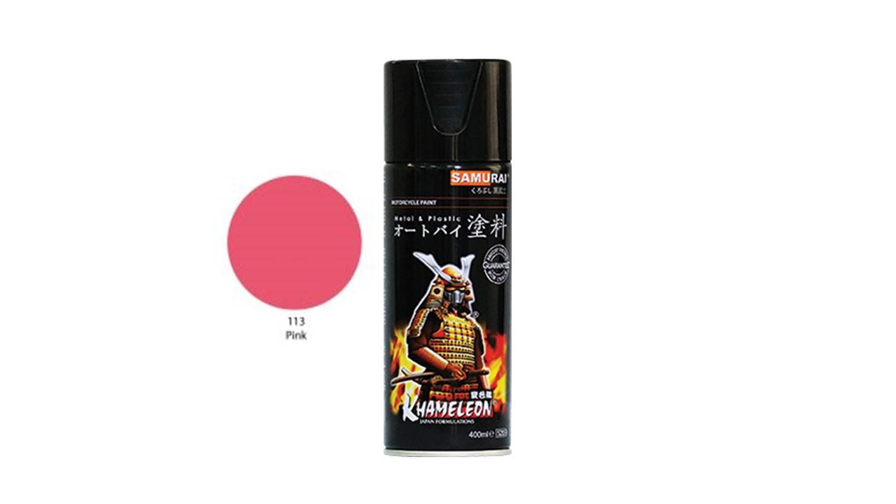 Samurai Spray Paint Pink 113