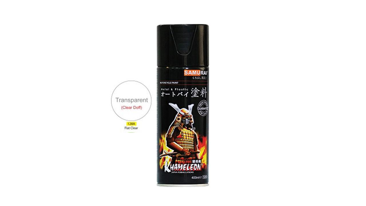 Samurai Spray Paint Standard Color (Clear)