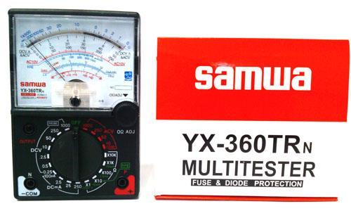 SAMWA Multitester YX360TRN