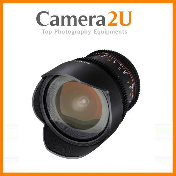 NEW Samyang 10mm T3.1 ED AS NCS CS II VDSLR Cine Lens