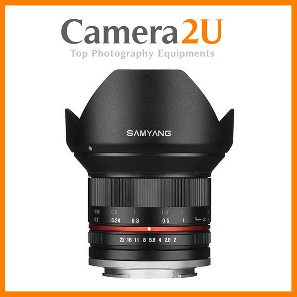 Samyang 12mm f/2.0 NCS CS Lens (Micro Four Third Mount)