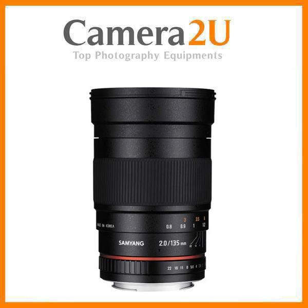 NEW Samyang 135mm f/2.0 ED UMC Lens