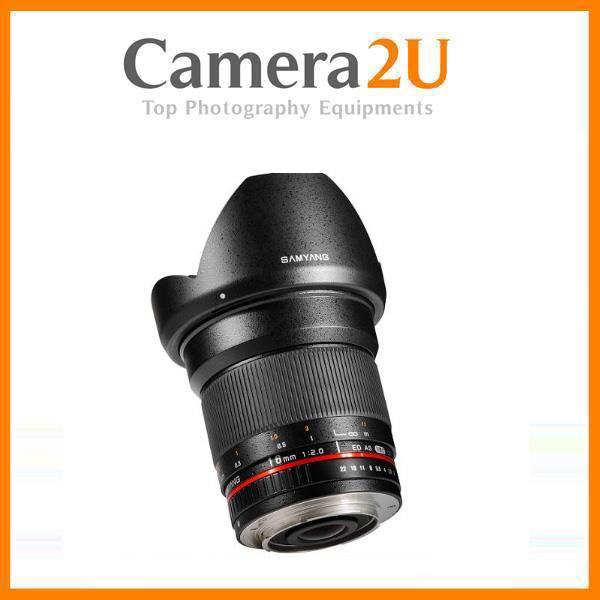 NEW Samyang 16mm f/2.0 ED AS UMC CS for Canon Mount