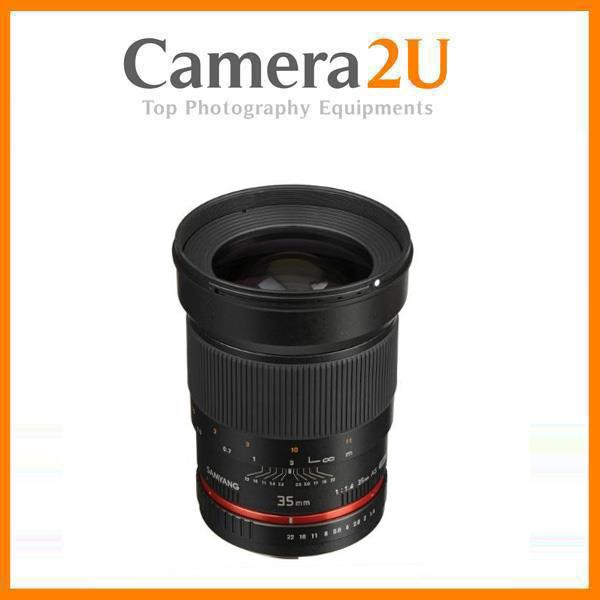 NEW Samyang 35mm F1.4 AS UMC for CanonAE Mount