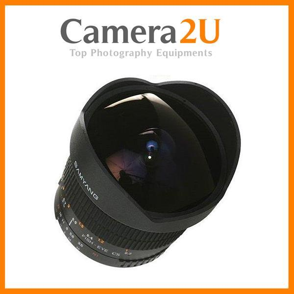 Samyang 8mm f/3.5 Fisheye Lens For Nikon Mount