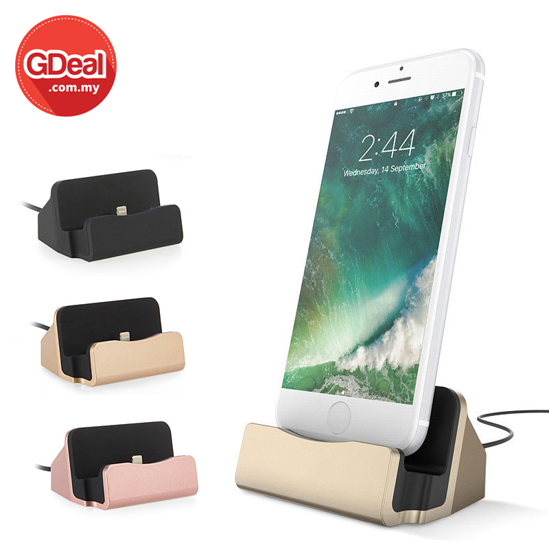 Sancy USB IOS Charging Dock Station Fast Portable Charger Stand Cable