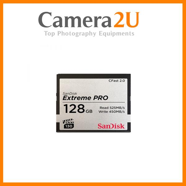 SanDisk 128GB ExtremePro CFast 2.0 Card