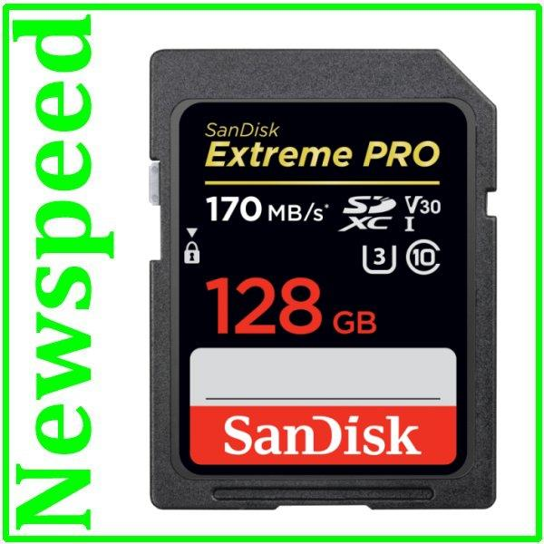 SanDisk 128GB SD Extreme PRO UHS-I SDXC Memory Card - Ready Stock