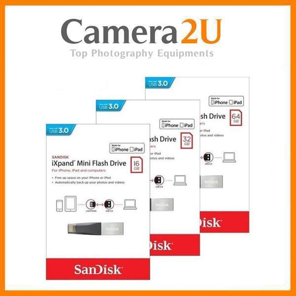 SanDisk 16GB / 32GB / 64GB / 128GB iXpand Flash Drive