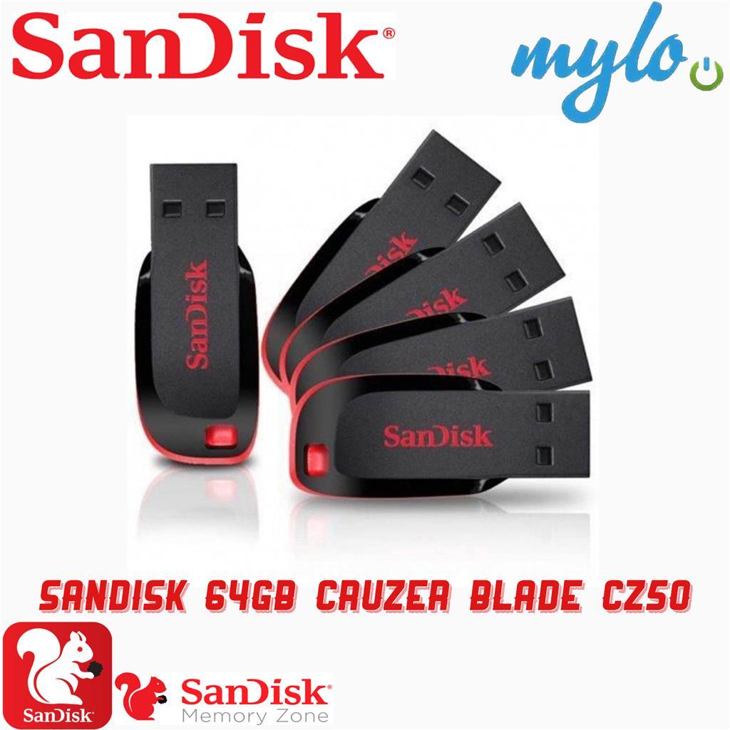 SanDisk Cruzer 50 Blade USB Flash Drive(8GB,16GB,32GB,64,128GB