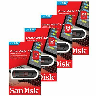 SanDisk Cruzer Glide CZ600 USB 3.0 Flash Drive Pendrive 64GB