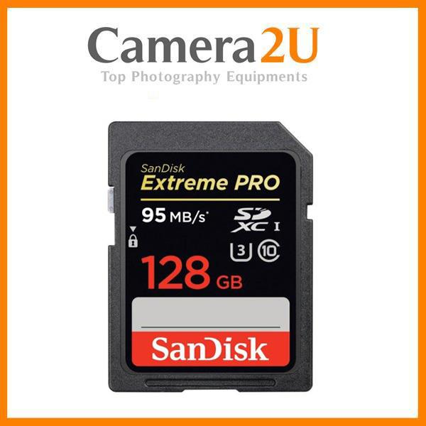 Sandisk Extreme Pro 128GB Full HD SD Card (95MB/s) SDXC Memory Card