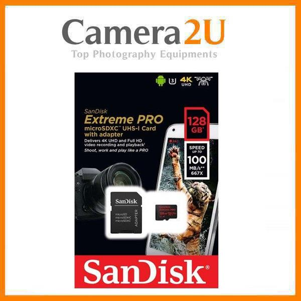 SanDisk Extreme Pro 128GB Micro SD Card - 100MB/s
