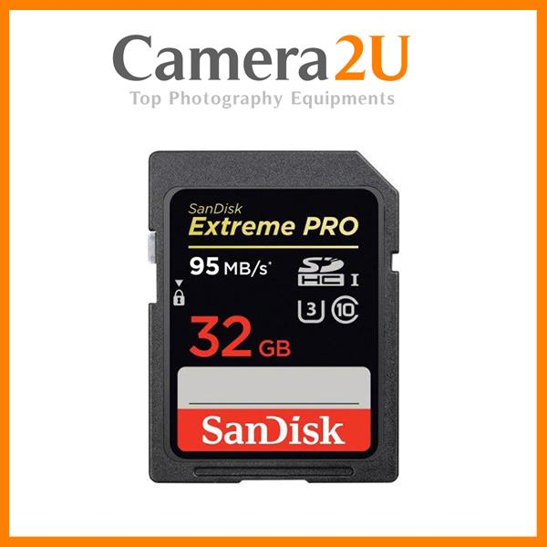 NEW Sandisk Extreme Pro 32GB Full HD SD Card (95MB/s) SDHC Memory Card