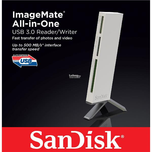 Sandisk ImageMate® All-in-One USB 3.0 Reader/Writer