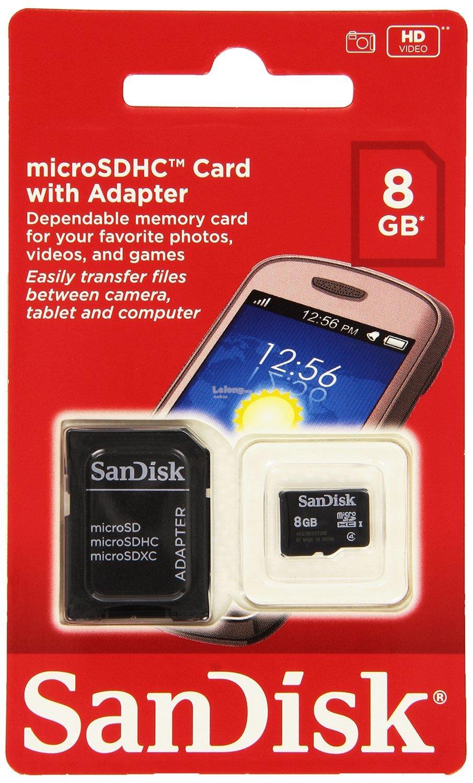 Amazon Microsd Card 8gb