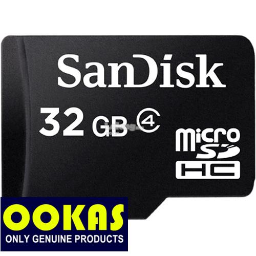 SANDISK Micro SD 32GB Genuine CL4 TF Memory Card Class 4