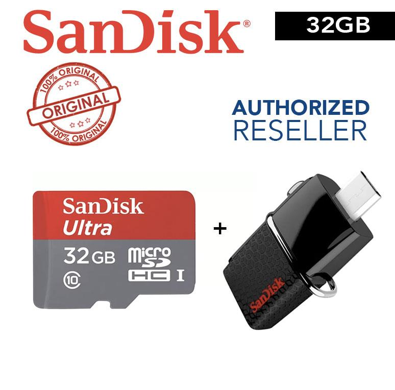 SanDisk Ultra Mobile Storage Pack 32GB (USB Drive + Micro SD Card)