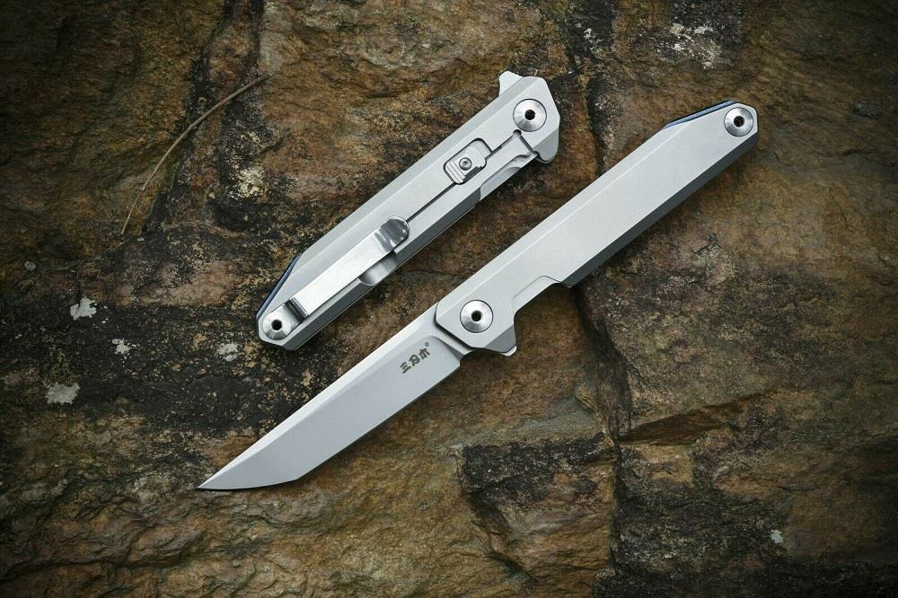 Sanrenmu 1161 Stainless Steel Liner Lock Folding Knife/Knives