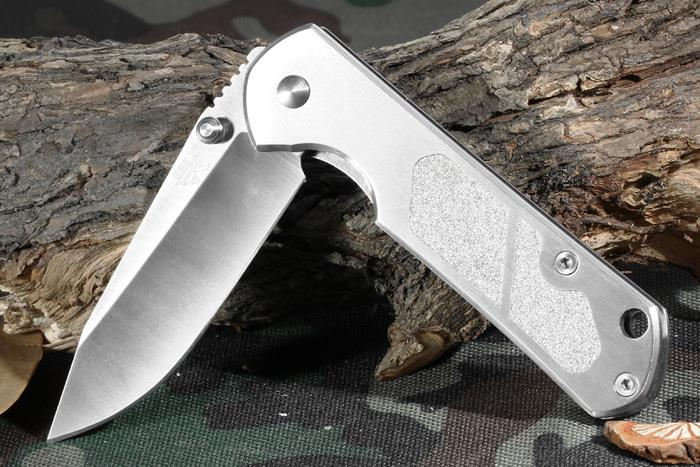 Sanrenmu 7010 LUC-SA Stainless Steel Frame Lock Folding Knife/Knives