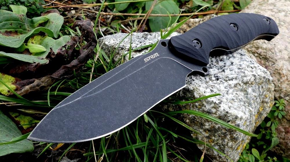 Sanrenmu S745-GB Outdoor Straight Fixed Blade Knife/Knives