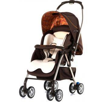 Santa Barbara Polo & Racquet Club J886 Stroller Brown