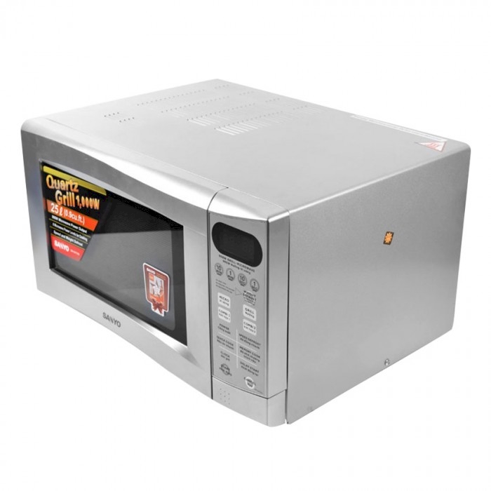 Sanyo 25l Grill Microwave Oven 900w 1000w Em G477as