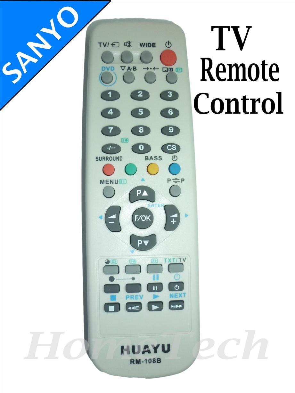 SANYO RCA CRT TV Remote Control Rep (end 10/24/2018 5:15 PM)