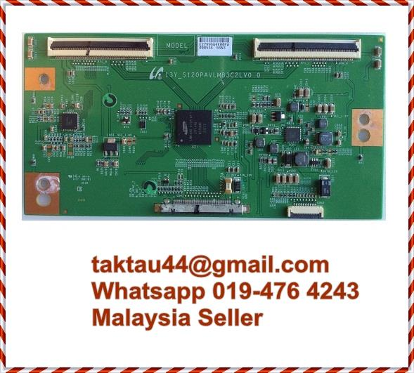 Sanyo TV LE48S500 T-Con Tcon Timing Board 13Y_S120PAVLMB3C2LV0 0