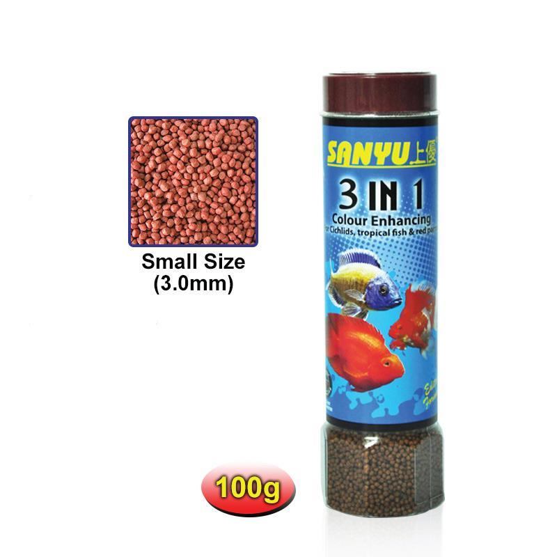 SANYU 3 IN 1 100g - SMALL RED