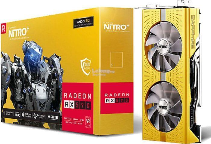# SAPPHIRE NITRO Radeon RX 590 (AMD 50th Anniversary Edition) #