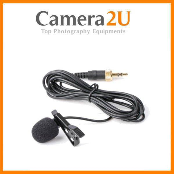 Saramonic Lavalier Microphone 3.5mm TRS Male connector with Locking