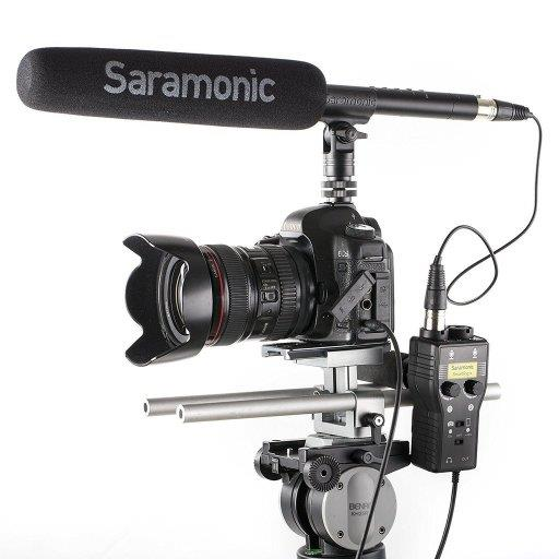 Saramonic SmartRig+ 2-Ch XLR/3.5mm Microphone Audio Mixer Adapter