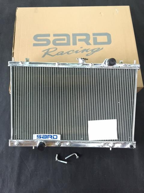 SARD Aluminium Radiator Campro AT - 3 ROW