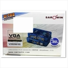 SAROWIN VGA 1 IN TO 2 OUT 350MHZ SPLITTER UP TO 35M (V350M0102)