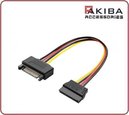 SATA 15-pin Cable Male to Female Extension Cable