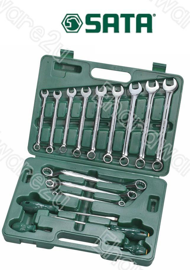 SATA 16PCS WRENCH AND SCREWDRIVER SET (09512)