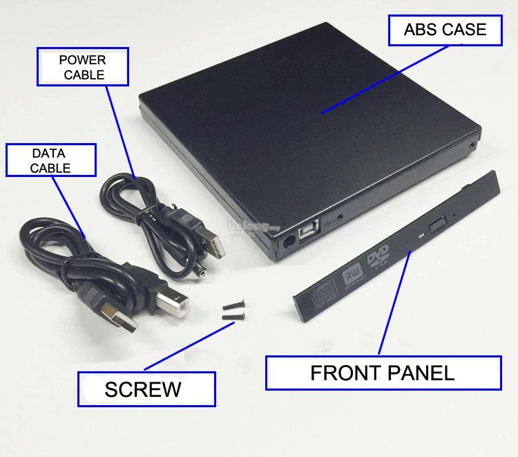 Sata 3 2 5' Laptop SSD HDD Caddy HardDisk Hard Disk Optical drive bay