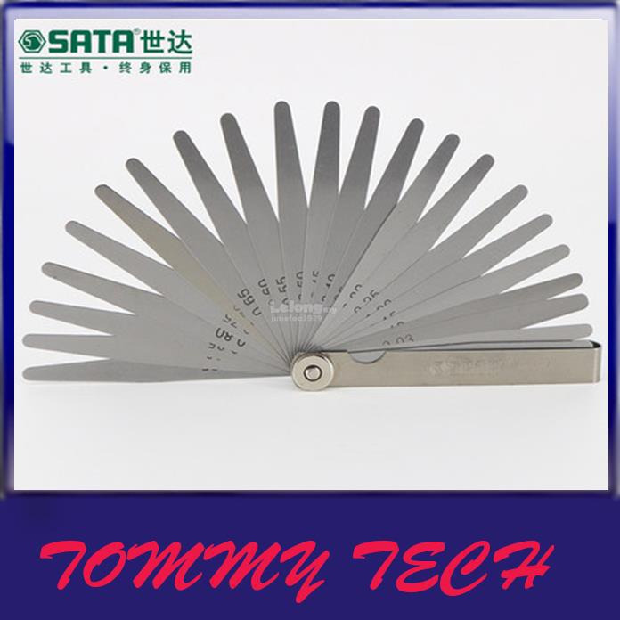SATA S/steel high precision Feeler  Gap gauge measurement Filler