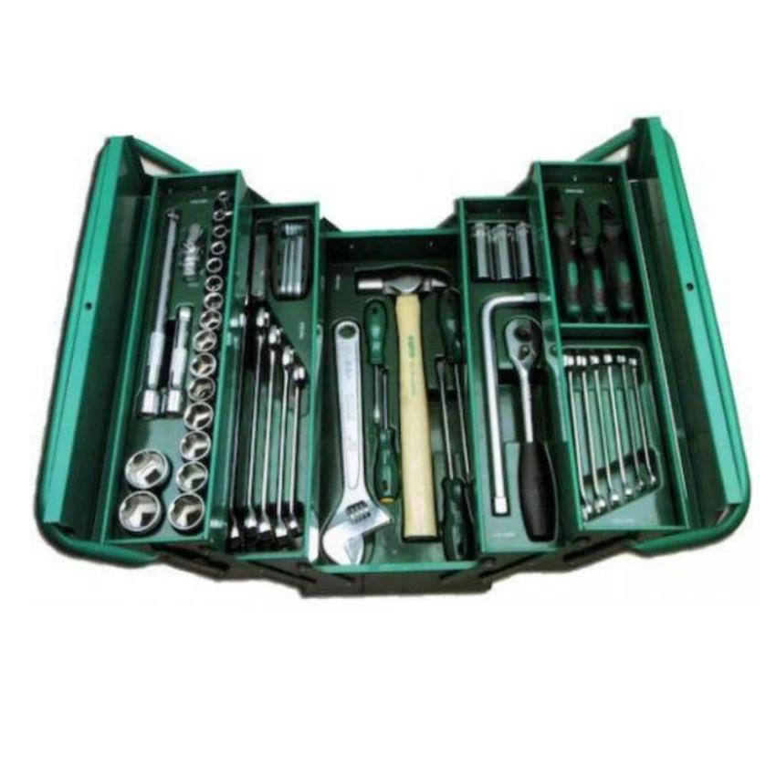 Sata Tools 70pcs Cantilever Mechanic Tool Chest & Tray Set 95104A-70