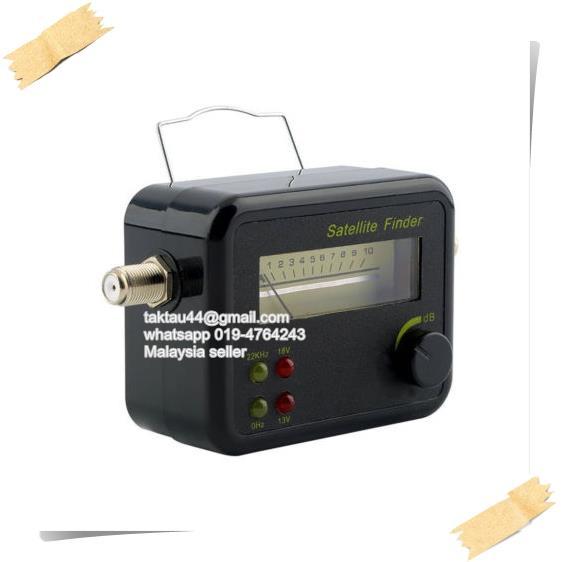 Satfinder Satellite Finder Signal Strength Meter DirecTV Dish Network